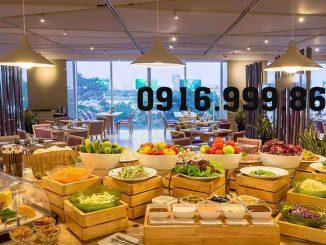 Không gian tổ chức cũng là yếu tố làm nên thành công của buổi tiệc buffet