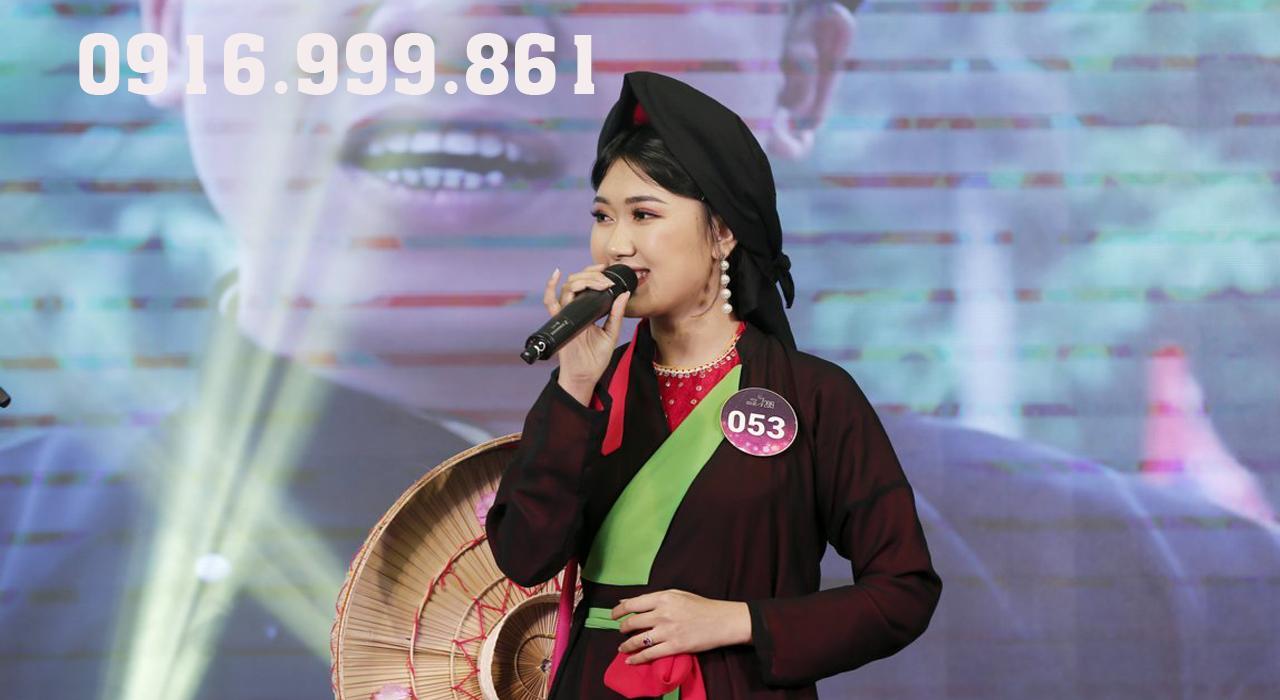 Cuộc thi người đẹp và tài năng tại Bắc Ninh